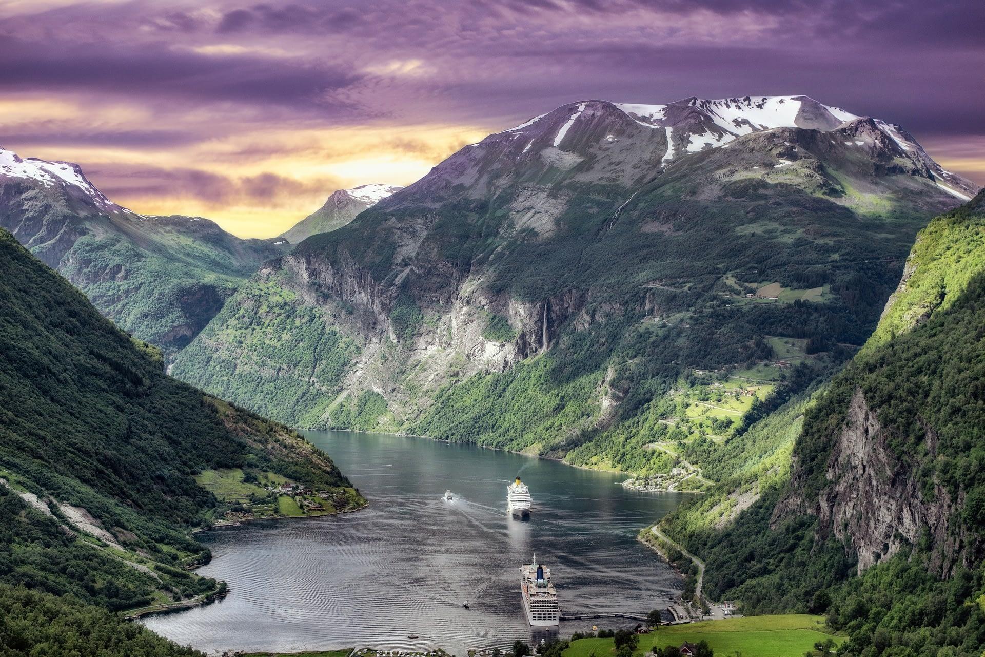 挪威盖朗厄尔峡湾