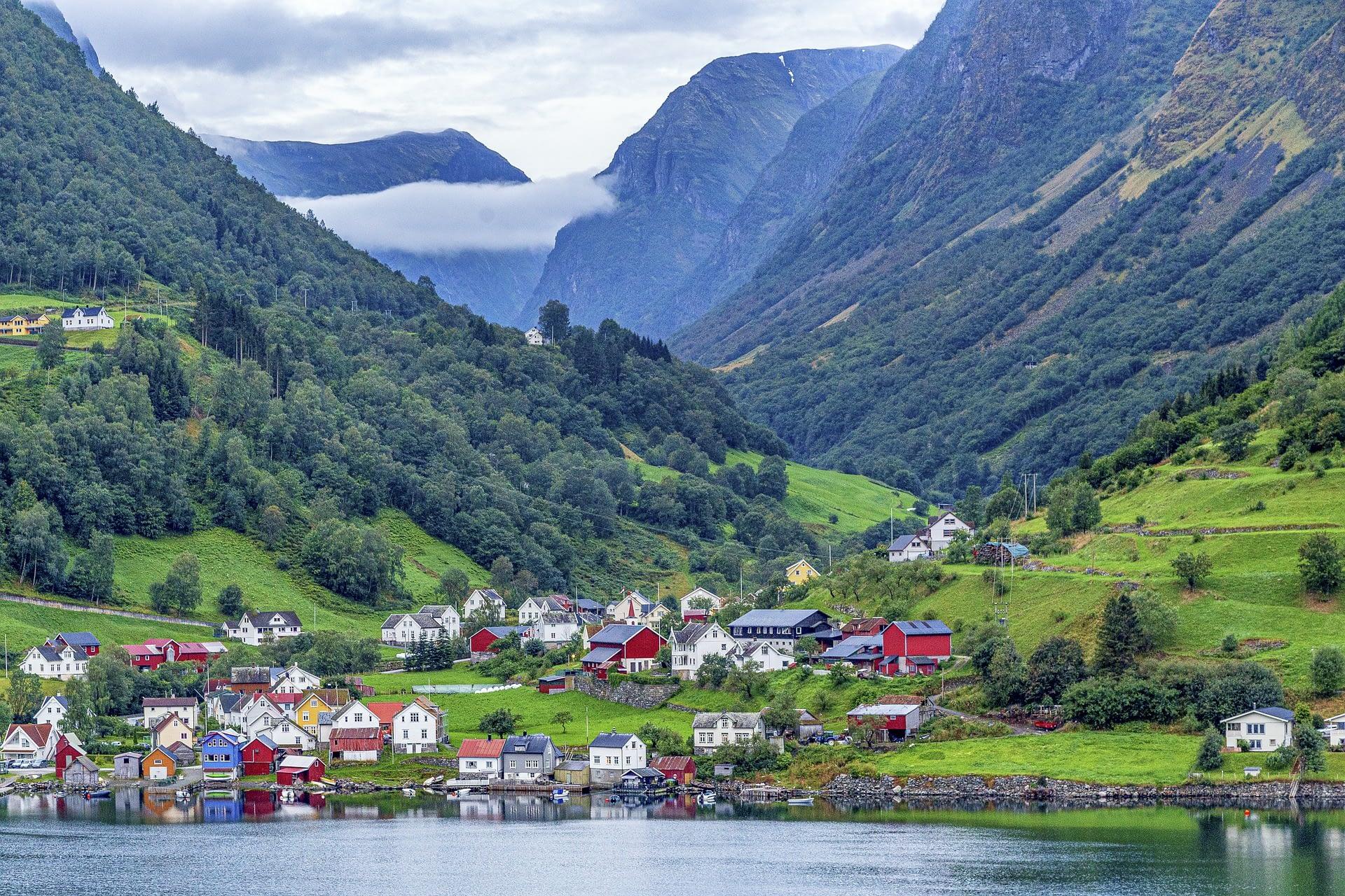 艾于兰峡湾 | 挪威
